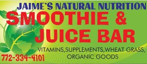 Jamie's Juice Bar Natural Nutrition