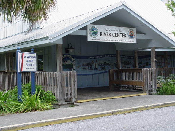 The River Center at Jupiter's Burt Reynolds Pak - phone 561-743-7123
